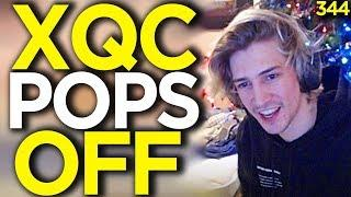 xQc Kills The Whole Enemy Team - Overwatch Funny Moments 344