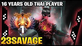23Savage 16 Years Old Thai Young Star at TOP 1 SEA SERVER