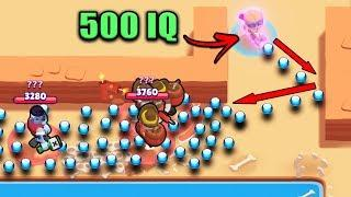 This *500 IQ* Bullet Trick is OP..!! - NEW Brawl Stars Funny Moments Glitches & Fails #7 Brawl Stars