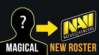 MagicaL NEW Na`Vi Mid Player to Replace Dendi - Natus Vincere New Roster Dota  2