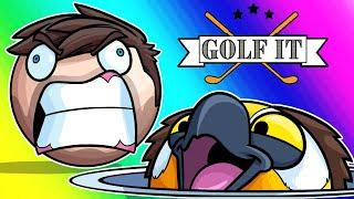Golf-it Funny Moments - Hole-in-One Challenge Ragefest!