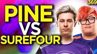 Pine vs Surefour Ashe Showdown Before Overwatch League - Overwatch Funny Moments 369