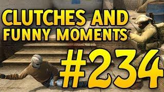 CSGO Funny Moments and Clutches #234 - CAFM CS GO