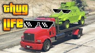 GTA 5 ONLINE : THUG LIFE AND FUNNY MOMENTS (WINS, STUNTS AND FAILS #32)