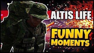 ARMA 3 ALTIS LIFE FUNNY MOMENTS - Criminal Mastermind! [German][HD]|TomderErste
