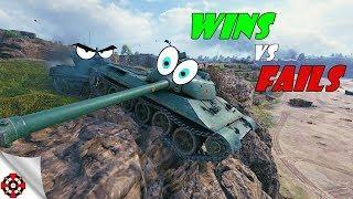 World of Tanks - Funny Moments | WINS vs FAILS! (WoT fails, December 2018