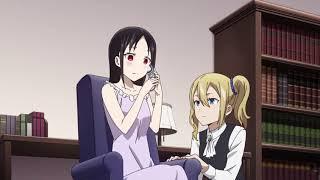 Shinomiya Calls Miyuki Funny Scene [Kaguya-sama:love is war][Ep#4]