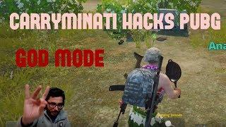 CARRYMINATI HACKS PUBG MOBILE | FUNNY MOMENTS | CARRYISLIVE PUBG MOBILE HIGHLIGHT