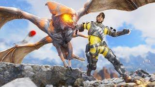*NEW* DRAGONS COMING TO APEX!!! | Best Apex Legends Funny Moments and Gameplay - Ep. 75
