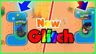 Darryl and Bull Stuck in Water - Funny Glitch in Brawl Stars - Meteor Showers - Scorched Stone