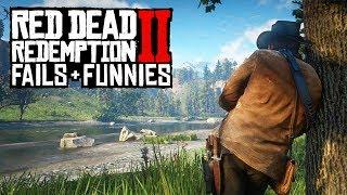 Red Dead Redemption 2 - Fails & Funnies #4 (Rdr2 Funny Moments Compilation)
