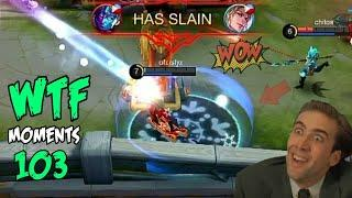 Mobile Legends WTF | Funny Moments 103