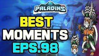 Paladins BEST & FUNNY MOMENTS Eps.98