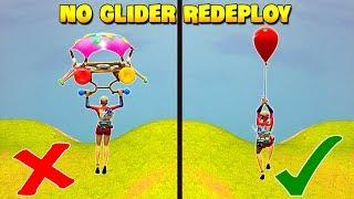 *TRICK* Never Die By Glider Redeploy..! | Fortnite Twitch Funny Moments #252