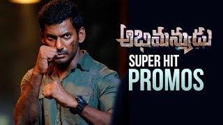 Vishal's Abhimanyudu Super Hit Promos | Back 2 Back | Samantha | Arjun | Manastars