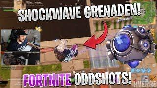Svenska Fortnite Oddshots #34 - *NYA* SHOCKWAVE GRENADEN! (HIGHLIGHTS/FUNNY MOMENTS)