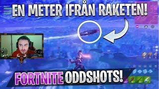 Svenska Fortnite Oddshots #16 - EN METER IFRÅN DEN NYA RAKETEN! (HIGHLIGHTS/FUNNY MOMENTS)