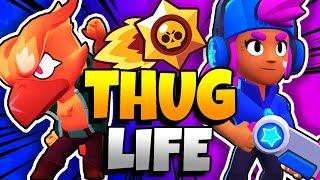BRAWL STARS THUG LIFE: Funny Moments EP. 25 (Brawl Stars Epic Wins & Fails)