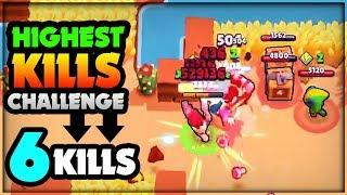MOST KILLS IN SOLO SHOWDOWN! 6 KILLS! :: Brawl Stars Challenge #3