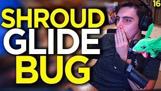 Shroud Learns The New GLIDE BUG - Apex Legends Funny Moments 16