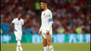 Cristiano Ronaldo Gets Dragged For Yanking His Shorts Up For Free Kick At World Cup