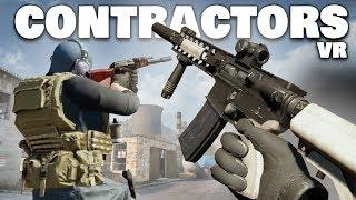 The ULTIMATE VIRTUAL REALITY Shooter! (Contractors VR Funny Moments)