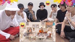 BTS REACTION: BLACKPINK Funny Moments NEW MINI ALBUM -KILL THIS LOVE- countdown VLIVE