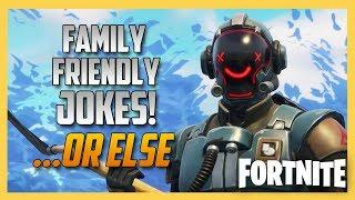 Family Friendly Jokes OR ELSE in Fortnite Creative! | Code: Swiftor