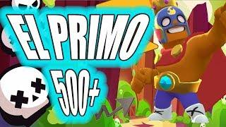 Playing El Primo over 500 trophies / Yde / Brawl Stars