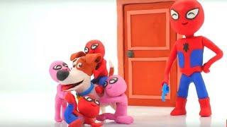 FUNNY KIDS LOVE THEIR NEW PET ❤ Play Doh Cartoons For Kids