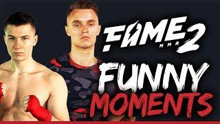 MALCZYŃSKI VS POLAK! FAME MMA - FUNNY MOMENTS!