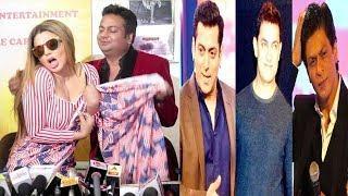 Rakhi Sawant's FUNNY Reaction On Salman,Shahruk & Aamir Performing At Her WEDDING With Deepak Kalal
