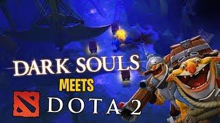 When Dark Souls Meets DotA - Techies DotA 2 Underhollow Funny Moments