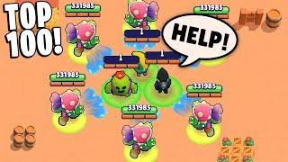 TOP 100 BRAWL STARS FUNNIEST FAILS & MOMENTS EVER!