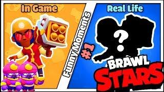 BROCK  in Real Life | BRAWL STARS FUNNY MOMENTS