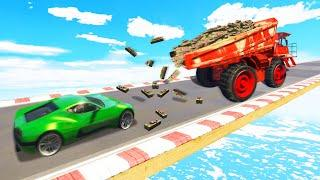 DUMPING 1,000,000 Sticky Bombs TROLL! (GTA 5 Funny Moments)