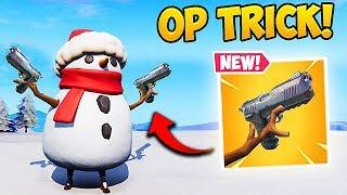 *NEW* HOW TO SHOOT INSIDE A SNOWMAN! - Fortnite Funny Fails and WTF Moments! #449
