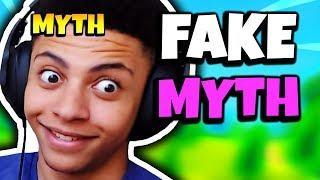 MYTH REACTS TO FAKE TSM MYTH   Fortnite Daily Funny Moments Ep.124