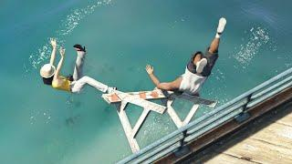 GTA 5 Water ragdolls/fails compilation vol.4 [Euphoria physics | Funny Moments]