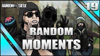 REACCIONANDO A FUNNY MOMENTS #19 | Burnt Horizon | Caramelo Rainbow Six Siege Gameplay Español