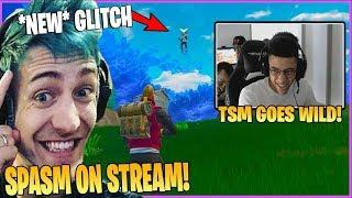 NINJA EXPERIENCES SPASM ON STREAM AFTER LOSING IN FORTNITE | TSM FUNNY MOMENTS | CDN FORTNITE GLITCH