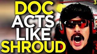 DOC's Impression of Shroud - Apex Legends Funny Moments 3