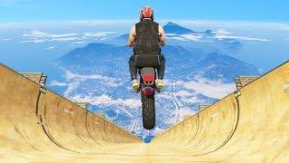 GTA 5 Motorcycle Jumps/Falls Compilation (GTA 5 Fails Funny Moments)