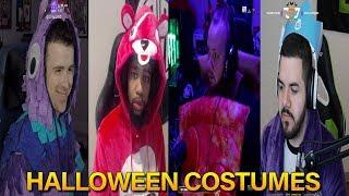Fortnite Streamers Halloween Costumes | Fortnite Highlights & Funny Moments