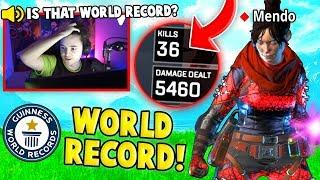 APEX WORLD RECORD SOLO KILLS 36! (Apex Legends Epic & Funny Moments #8)