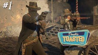 RED DEAD REDEMPTION 2 GAMEPLAY | FUNNY MOMENTS - Double Toasted Gaming