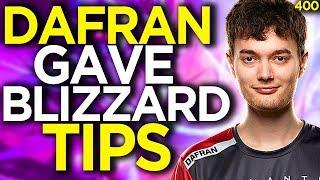 Blizzard Asked Dafran About Game Ballance and Ranked - Overwatch Funny Moments 400