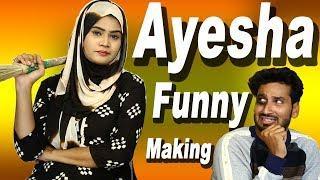 Ayesha khan Funny Making Video || Ayesha khan || Hyderabadi Stars