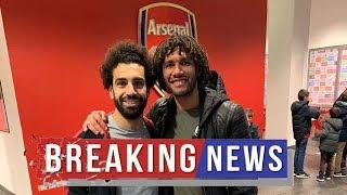 Arsenal fans are making the same Mo Salah jokes after Mohamed Elneny's tweet