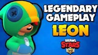 Leon OP!!! Brawl Stars (Funny Gameplay)